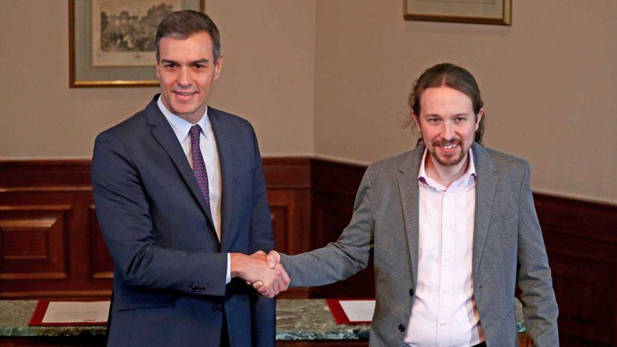 Acuerdo entre Unidas Podemos y PSOE para un gobierno de progreso